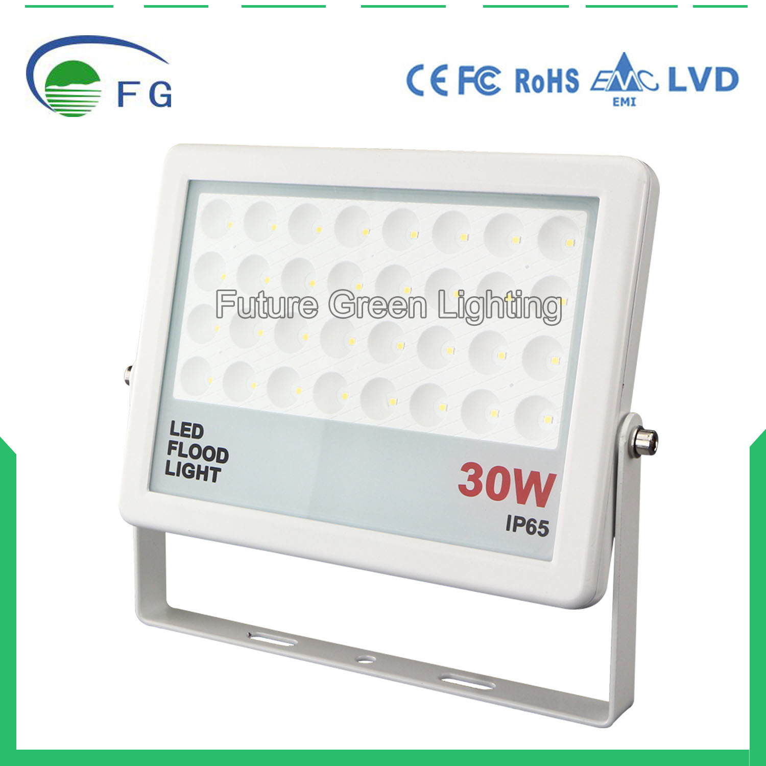 Ultra Thin 30W 50W 100W 60degree LED Floodlight