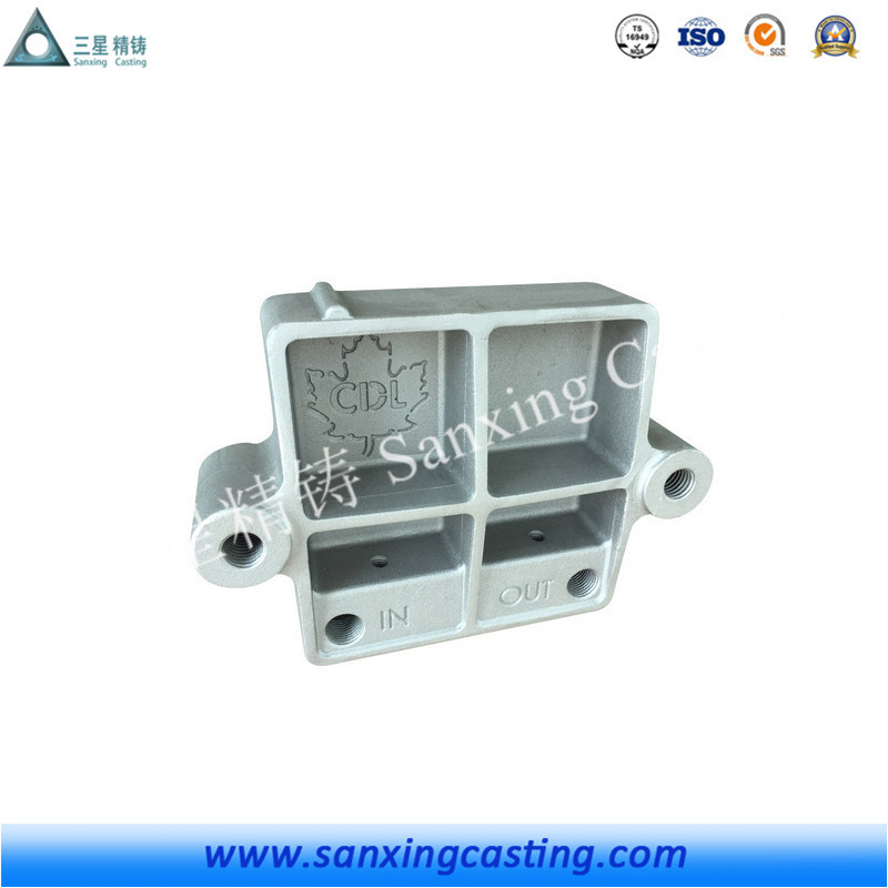 Cast Steel Cast Iron Casting Part for Machinery/Machining/Auto/Motor Part