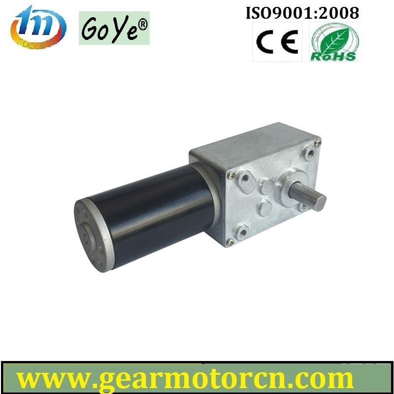 58mm Base 6V-24VDC High Torque Low Speed DC Worm Gear Motor