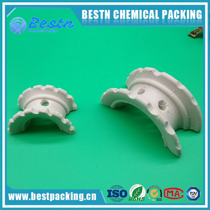 Ceramic Super Intalox Saddles with Excellent Acid and Heat Resistance