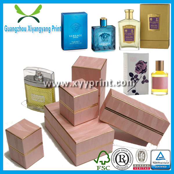 Custom Paper Plastic Leather Wooden Wine Perfume Cosmetic Packing Box Packaging