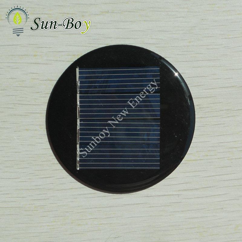 China 2v 125ma Mini Round Solar Panel China Round Solar