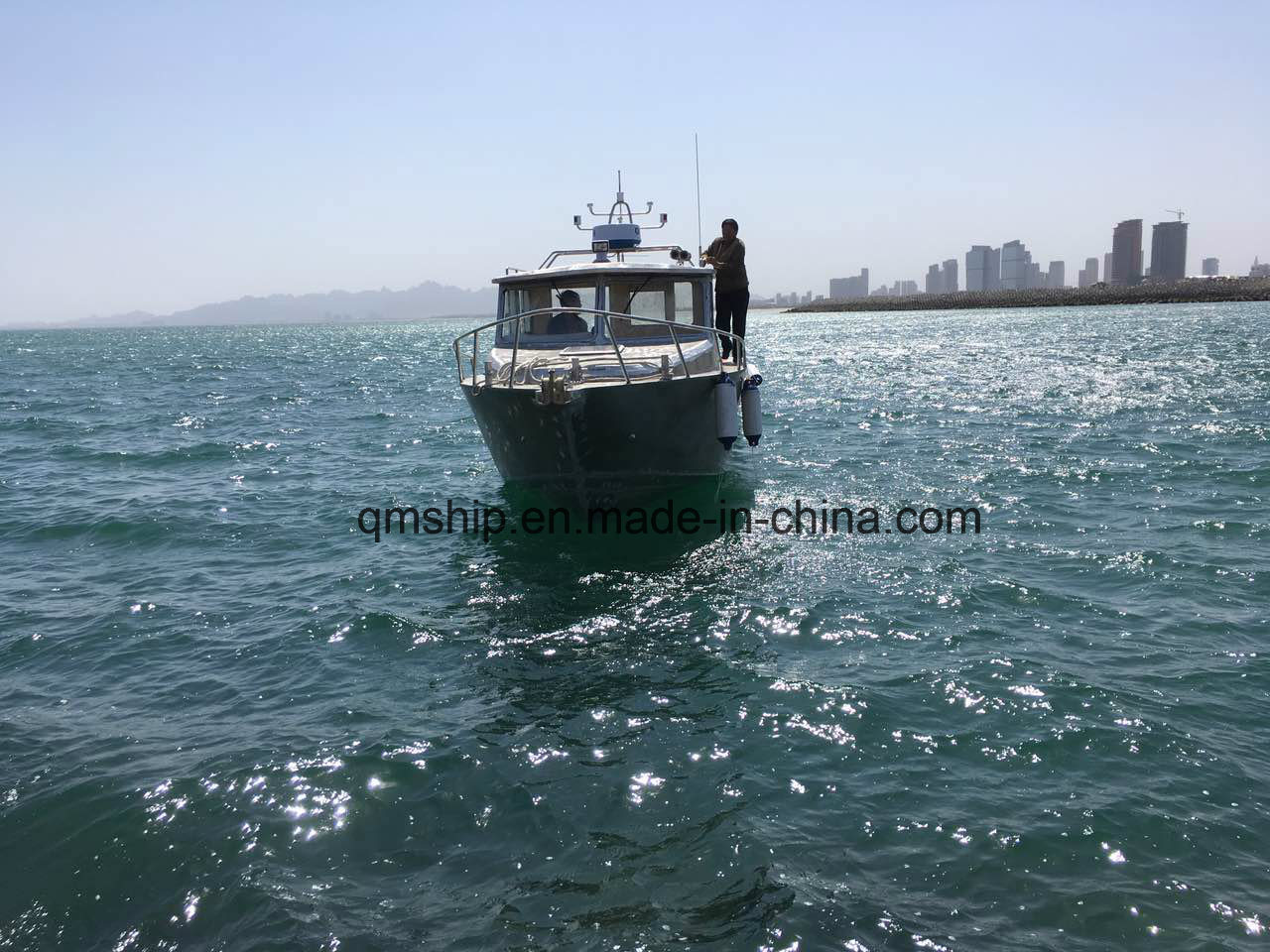 32FT 9.8 M Speed Fishing Boat QM980