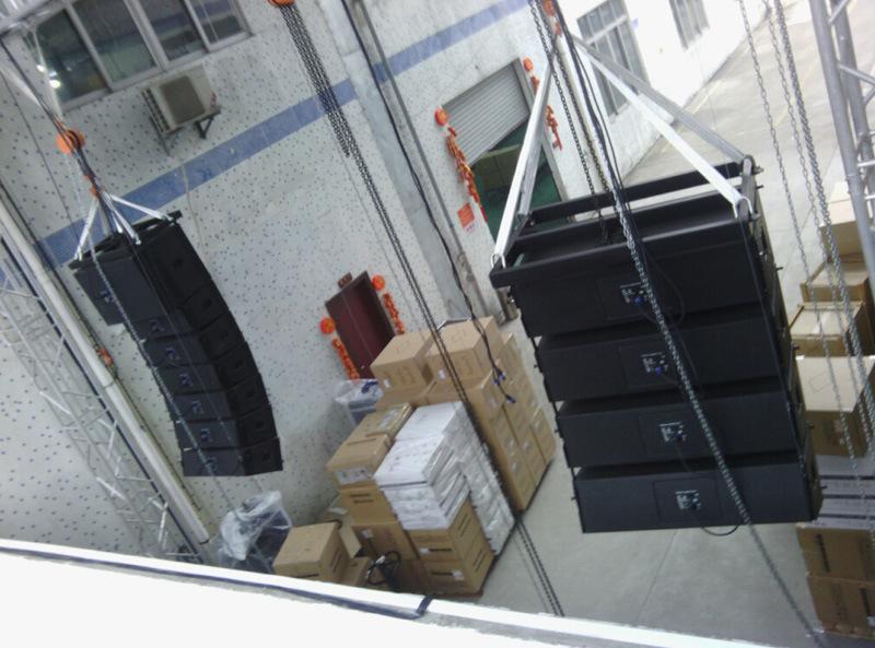 "Dual 12"" Powerful 3 Way Passive Line Array Speaker"