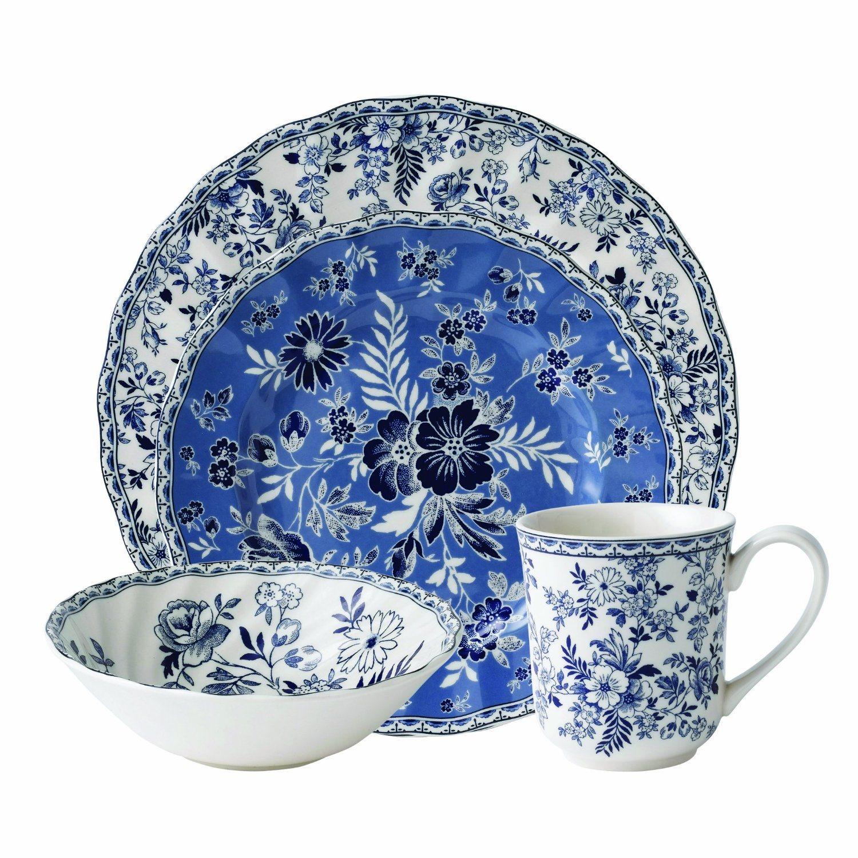 Quality Assurance Ceramic Cottage 4-Piece Place Setting