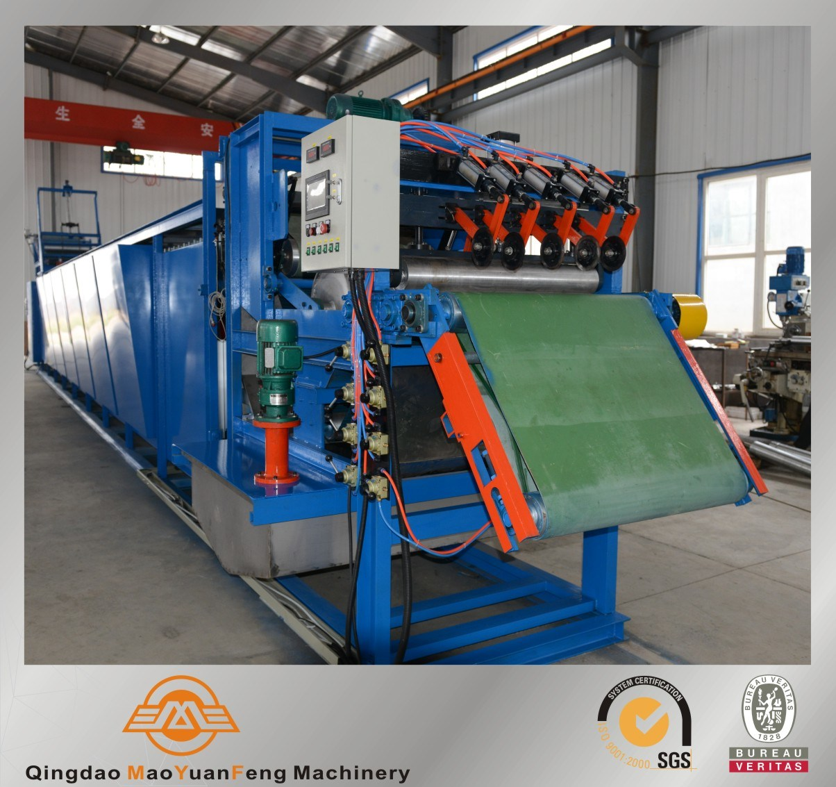 Rubber Sheet Batch off Cooling Machine with ISO SGS BV