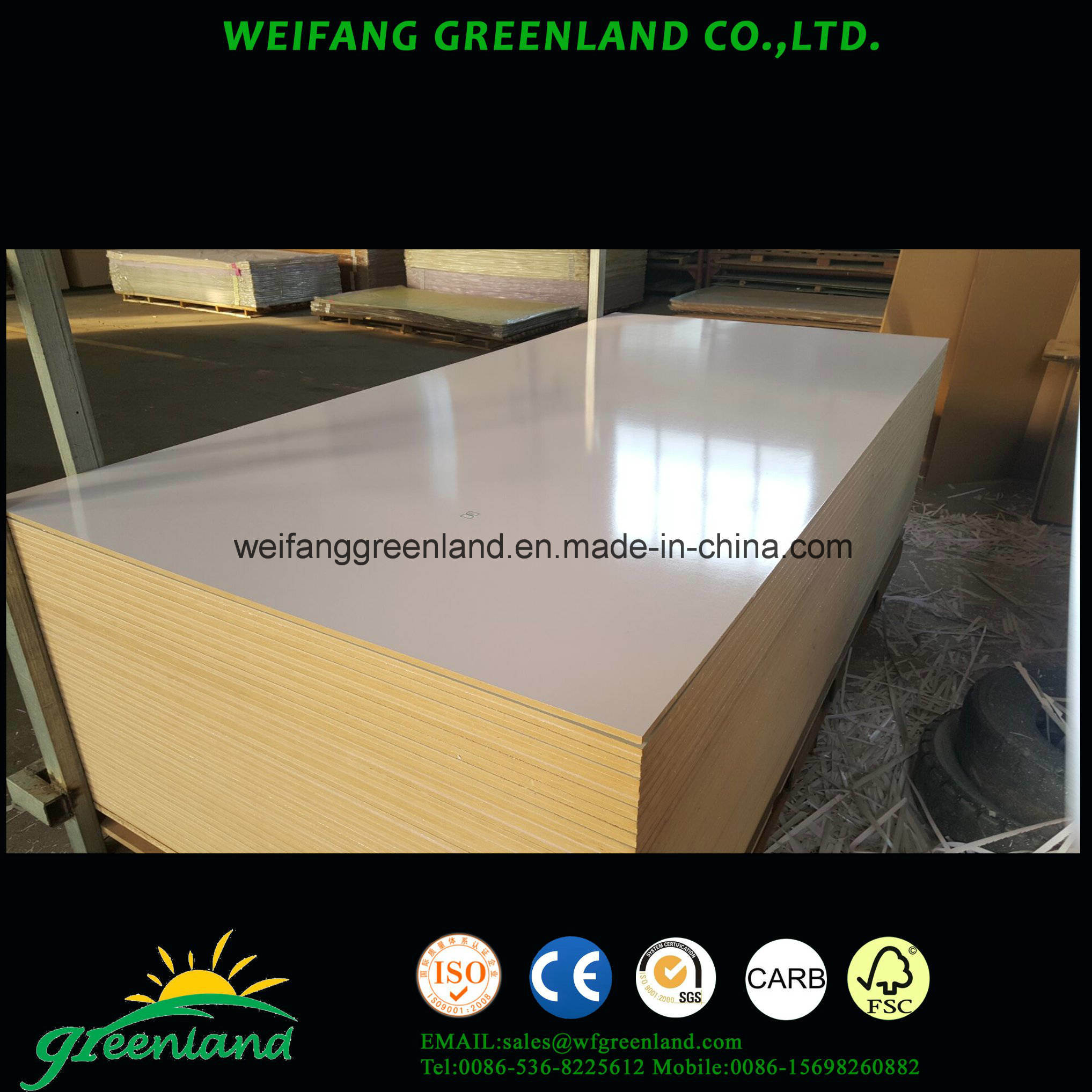 9mm High Glossy Finish School Wrting Board