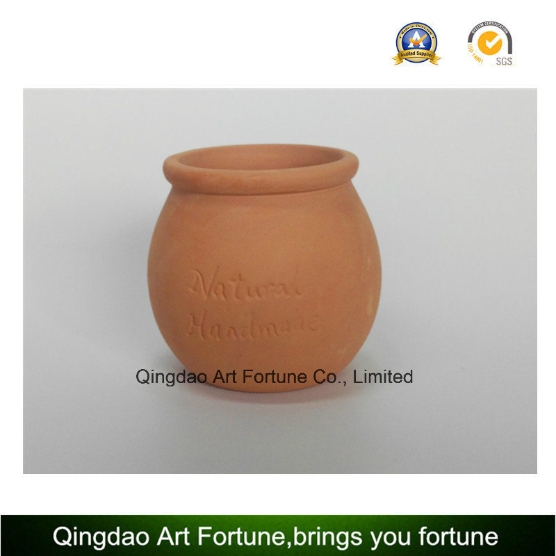 Clay Ceramic Pot for Candle Holder Use