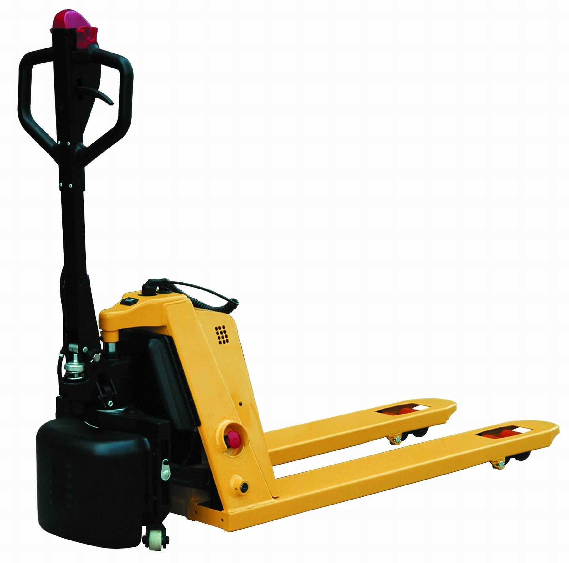 China Semi Electric Pallet Truck With Capacity