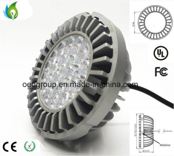 20W Osram LED Chip AR111 with G53 Base Aluminum Radiator and AC100-277V 90lm/W