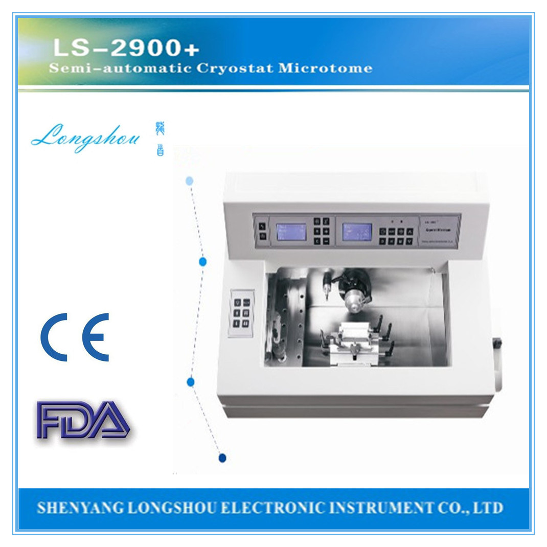 China Cryostat Microtome Price (LS-2900+)