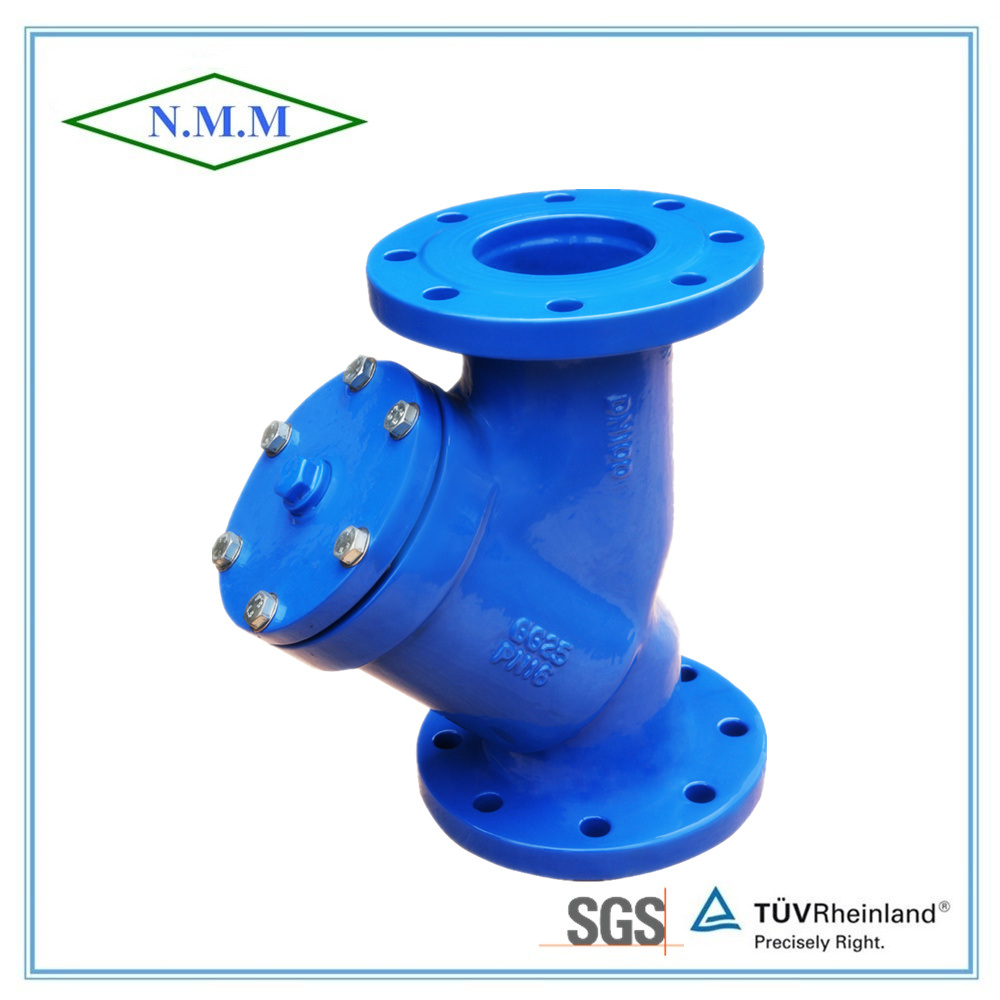Cast Iron DIN Standard Y-Strainer with Flange Ends