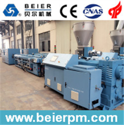 20-63mmpvc Pipe Double Strand Extruion Line