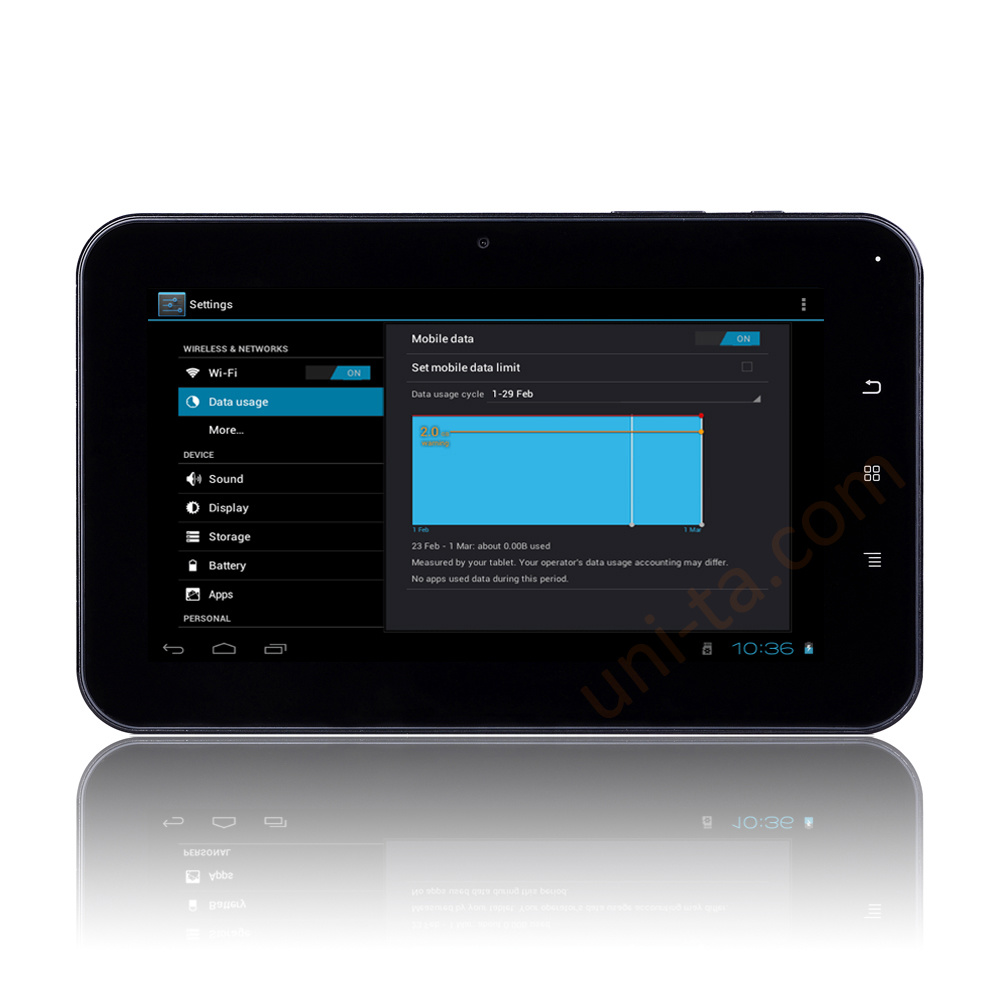 Inch Tablet PC with Android 4.0, 1.5GHz Processor