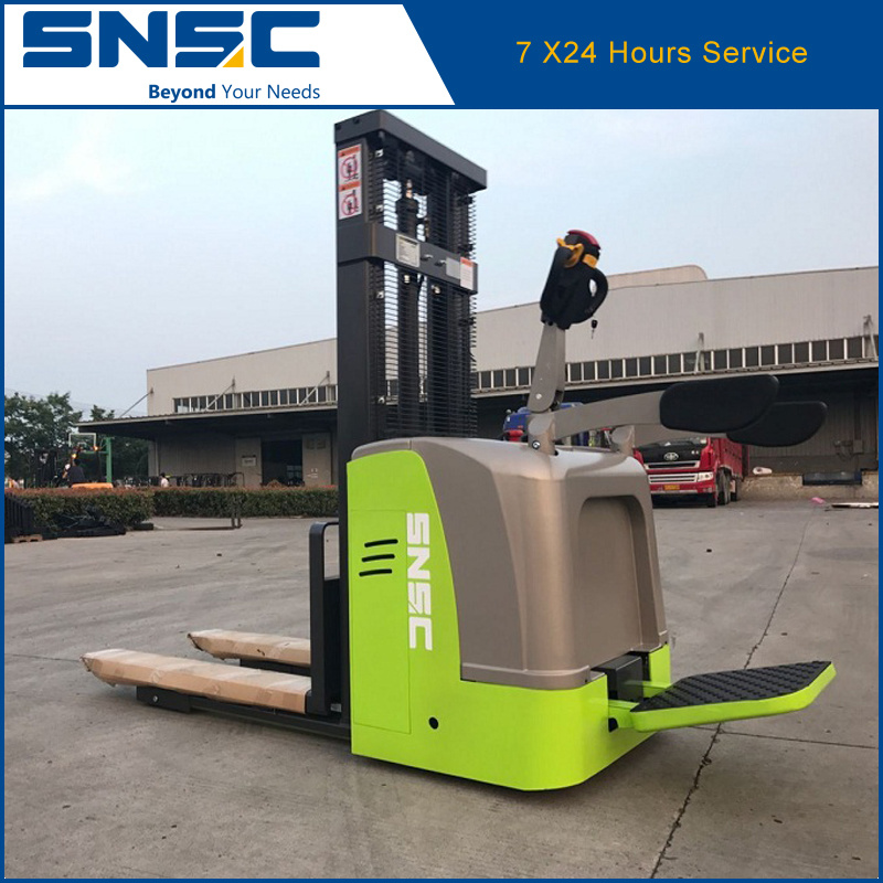 China Quality 1.5tons Electric Stacker Price
