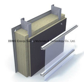 Curtain Wall Facade Thermal Insulation Rock Wool (Building Insulation)