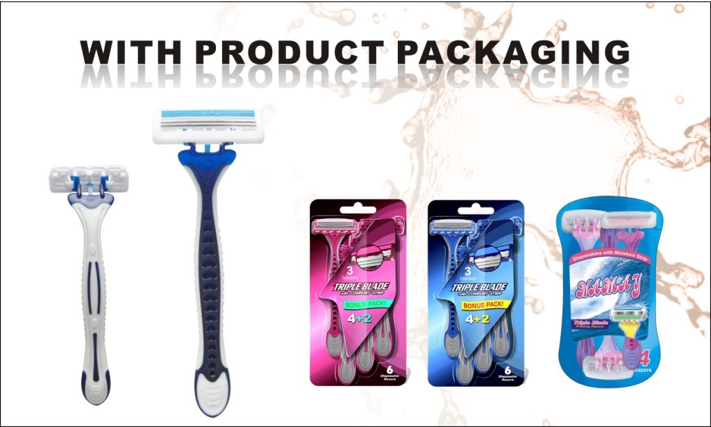 Disposable Razor for Lady