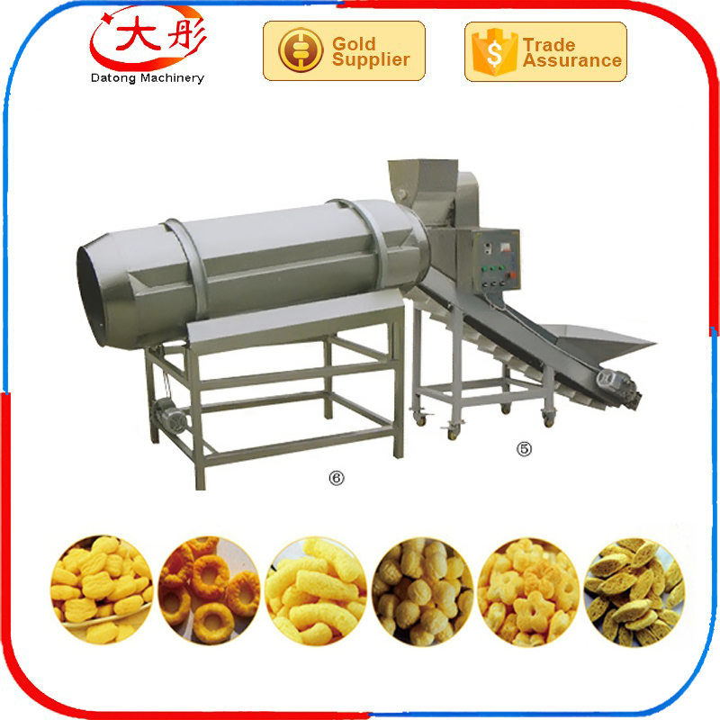 Rice Puff Snack Extruder