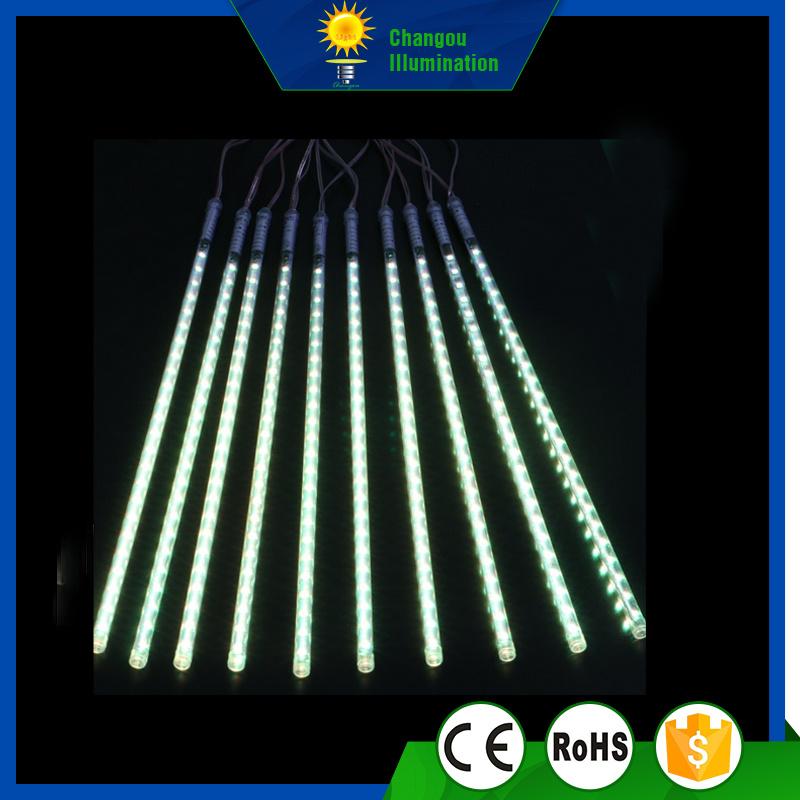 2835/30/30cm Outdoor Christmas Street Decorate LED Meteor Tube Light