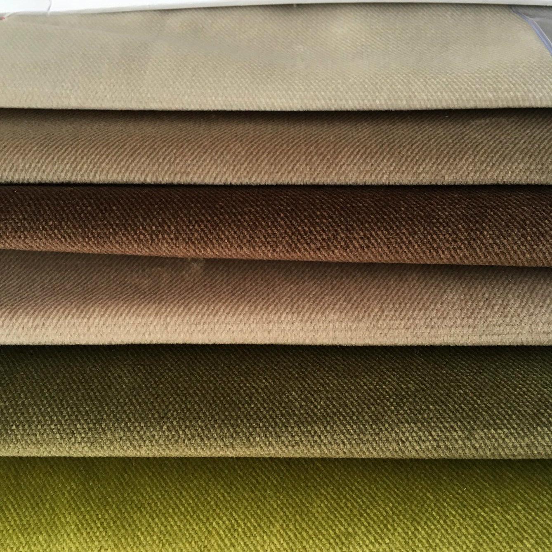Two-Tones Twill Knitting Velvet (JL07)