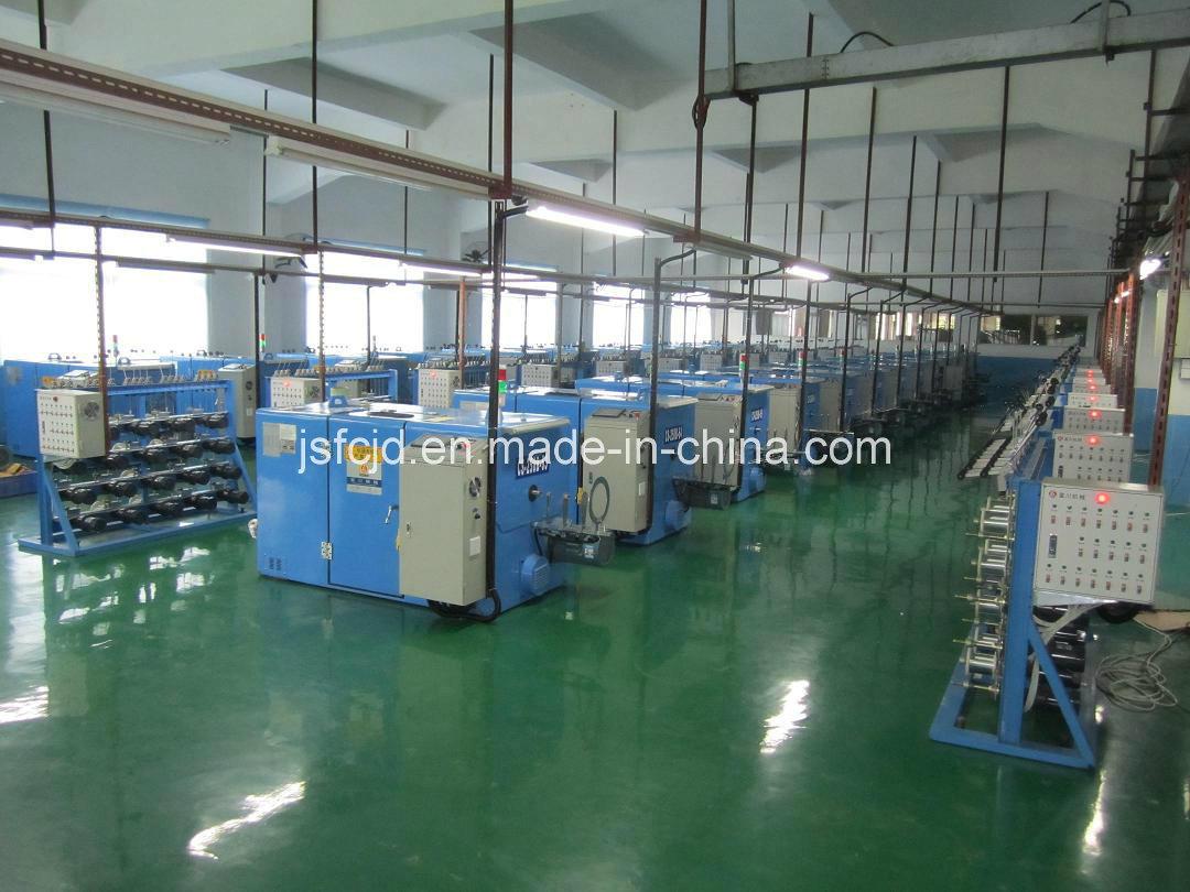 Nickel Alloy Wire Cabling Twisting Bunching/Stranding Machine (FC-250B)
