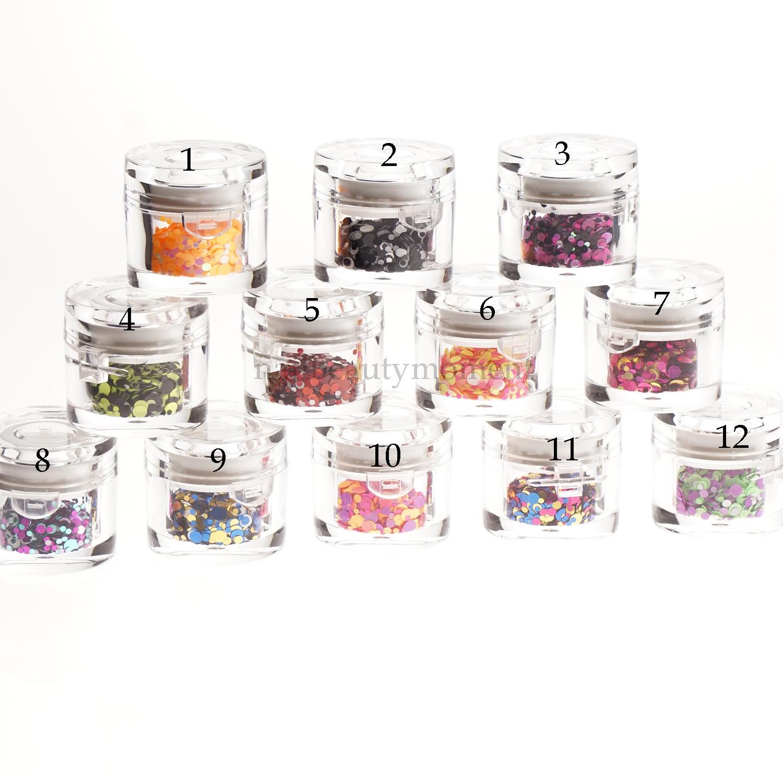 Art Nail Beauty Sparkle Glitter Mix Colors Decoration (D91)