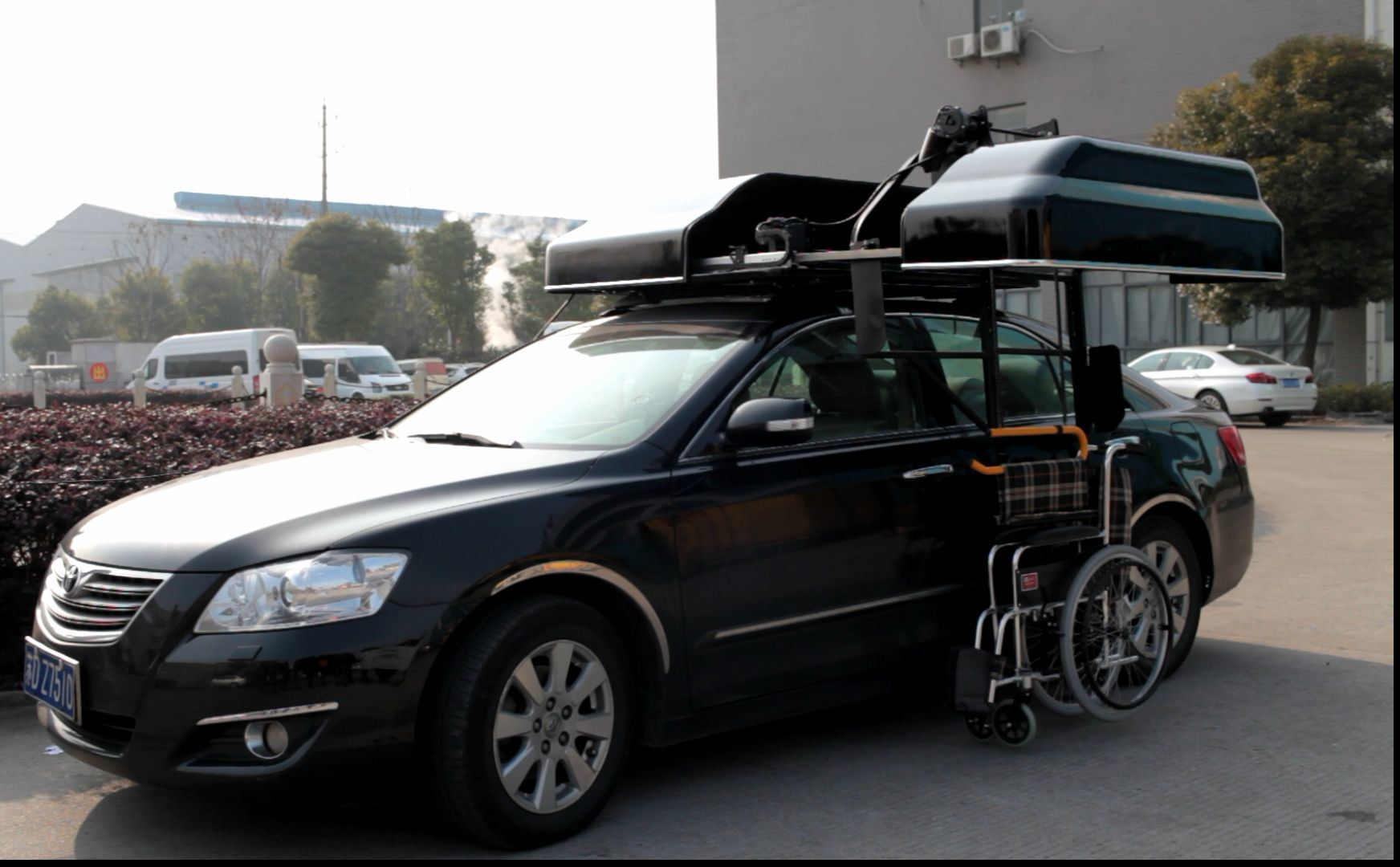 Car Wheelchair Carrier for Wheelchair Loader
