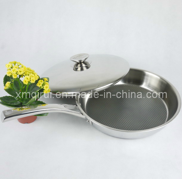 32 Cm Stainless Steel Non-Stick with Lid Saute Pan