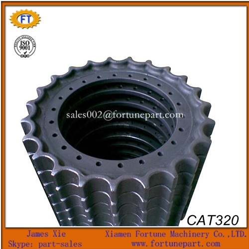 Heavy Equipment Undercarriage Repair Sprocket Spare Parts