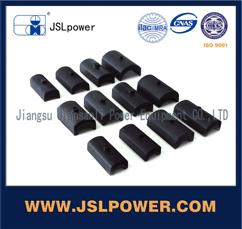 Electric Power Fittings Damping Rubber Parts Elastomer
