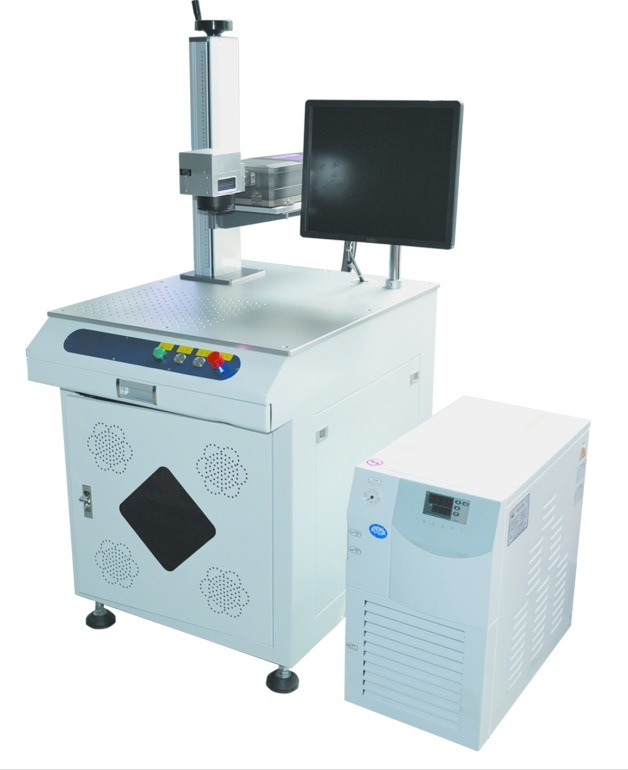 3W UV Laser Marking Equipment for Metal and Nonmetal Materials
