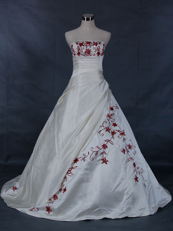 Wedding Gowns For   China : Made satin wedding dresses china dress
