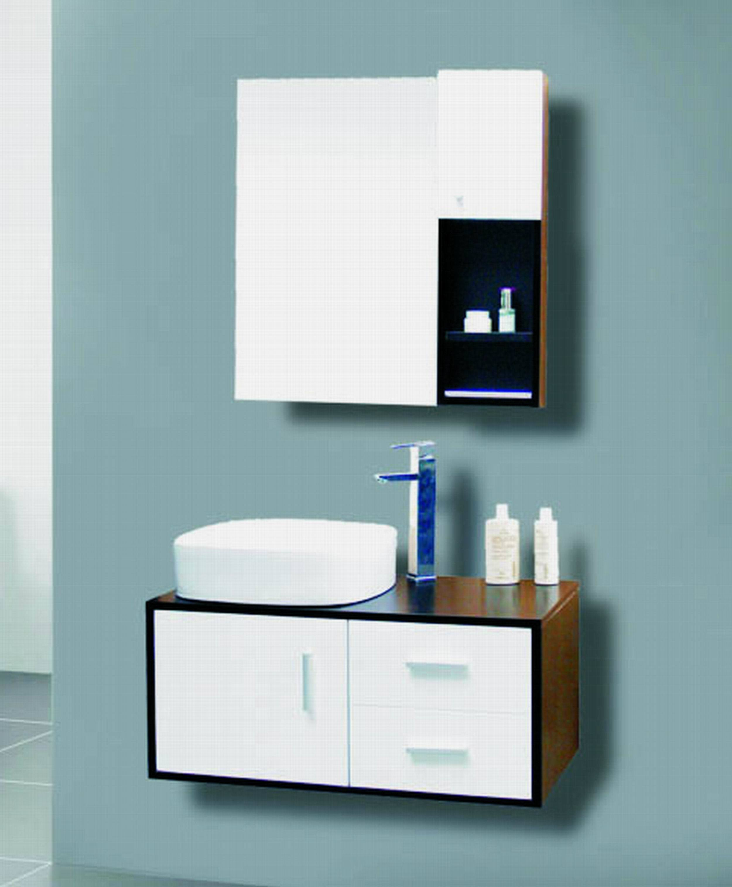 China pvc bathroom cabinet se5419 china bathroom for Bathroom furniture