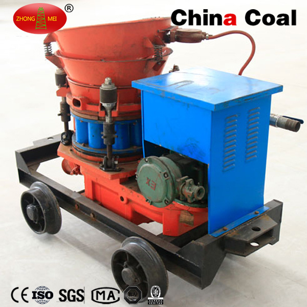 Construction Mining Tunneling Pz-3 Dry Mix Concrete Shotcrete Gunite Machine