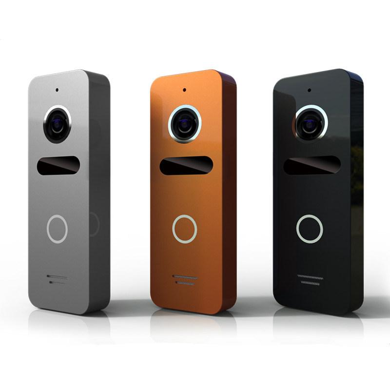 Home Security Intercom Doorbell 4.3 Inches Video Door Phone Interphone