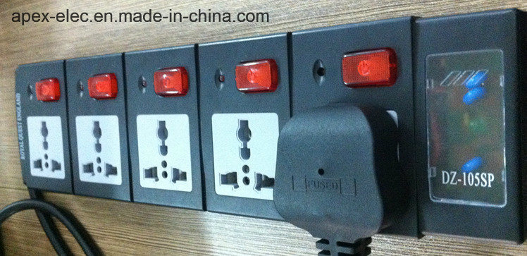 5 Universal Outlet Energy Saving Power Board