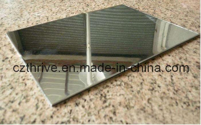 China Polished Mirror Aluminum Reflective Sheet Cdf