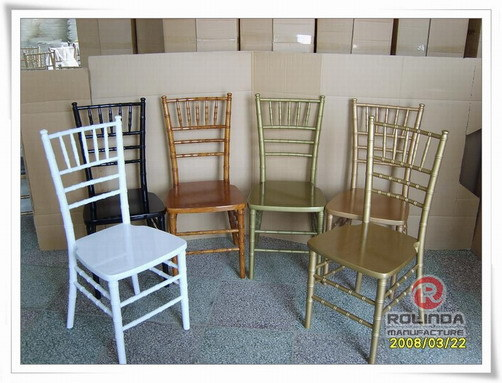 High Grade Coloured Promotion Chiavari Chair