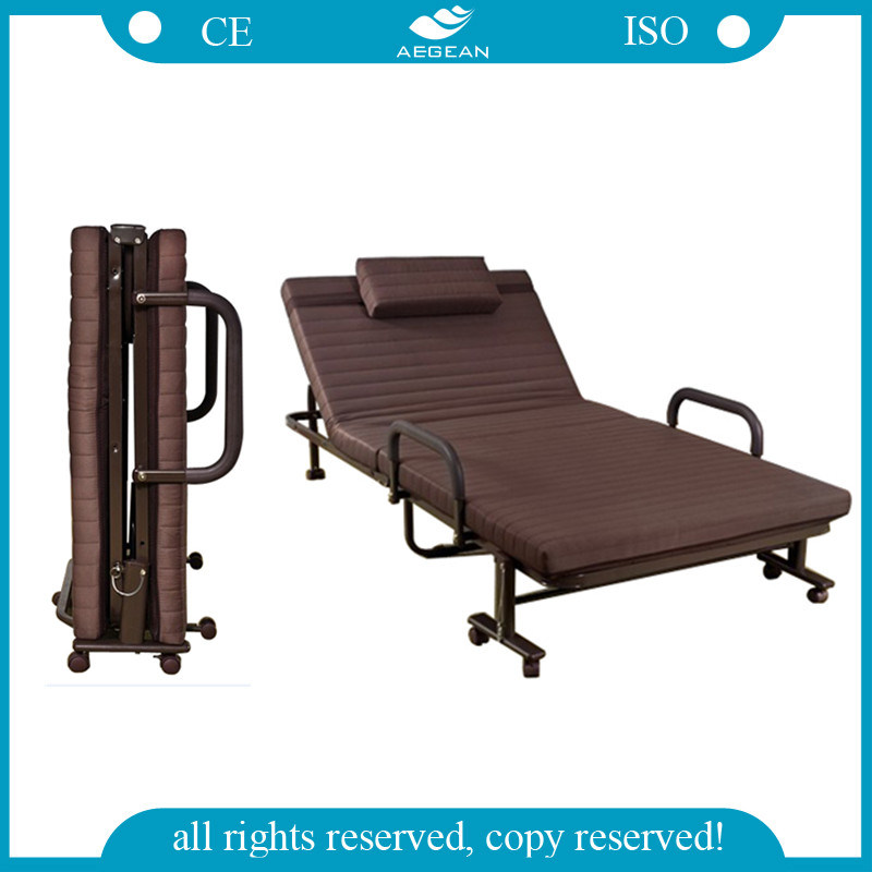 China cheapest hospital portable manual folding bed ag for Futon portatil