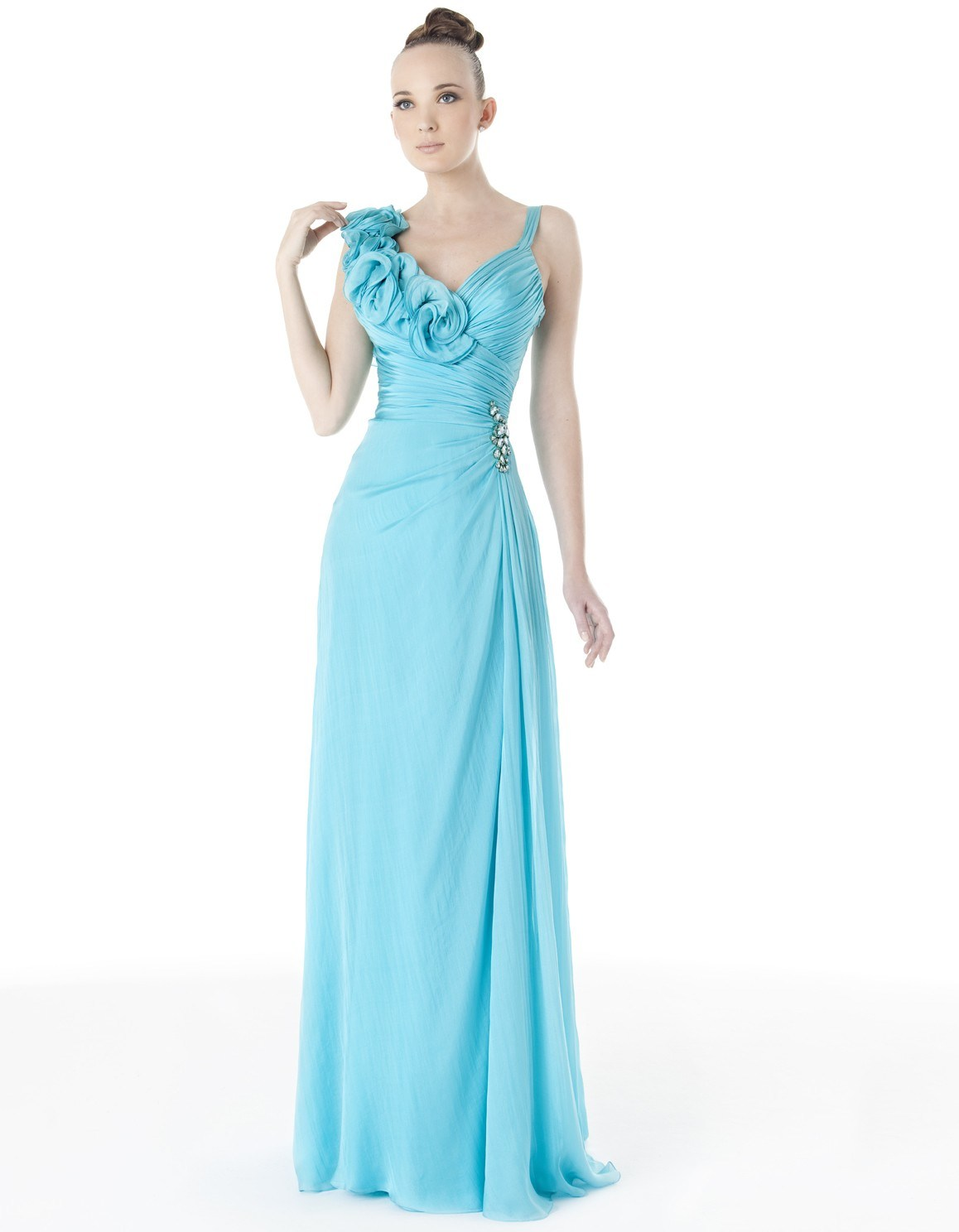 Sky Blue Prom Dresses 56