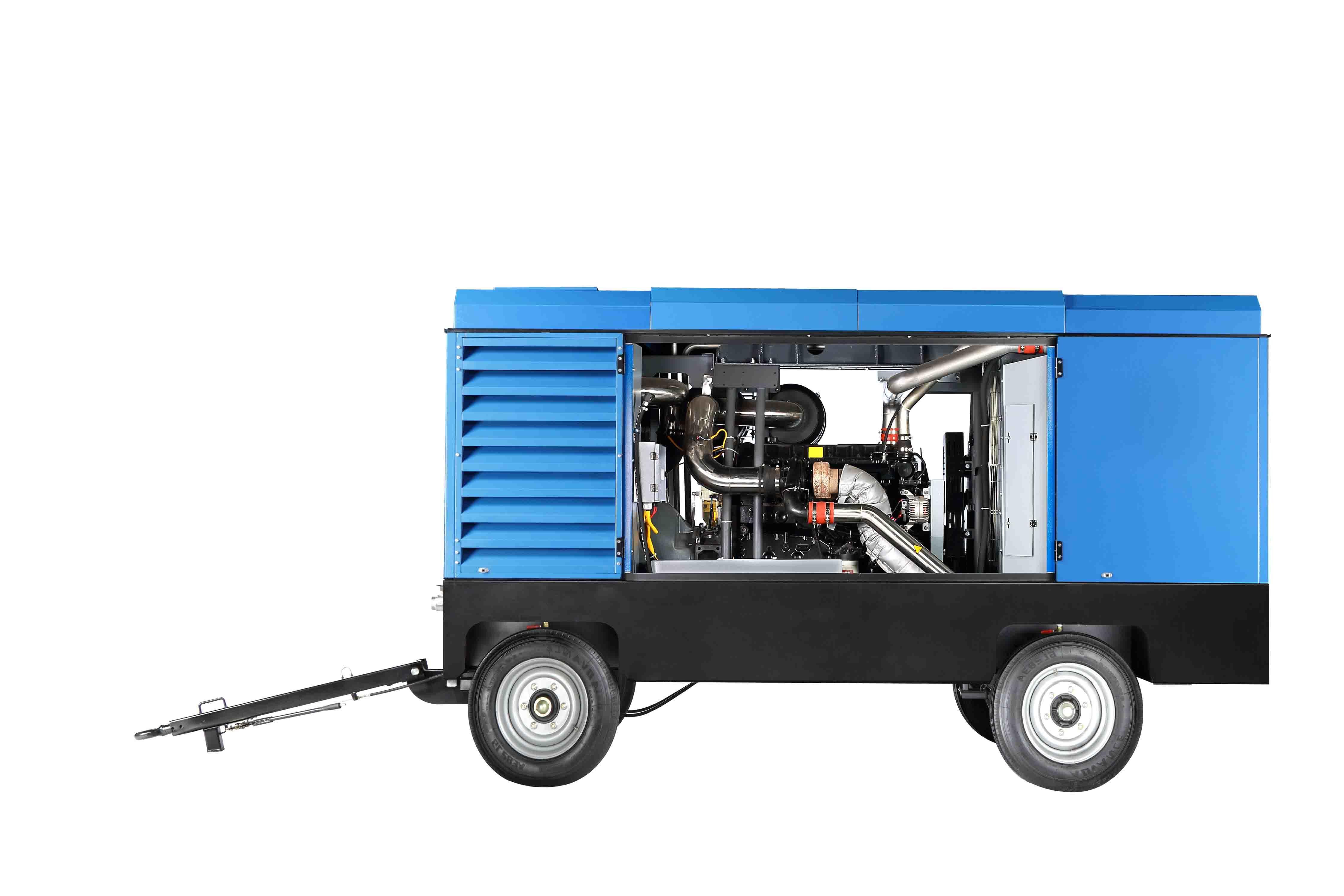Atlas Copco Liutech 30bar Well Driling Rig Diesel Air Compressor
