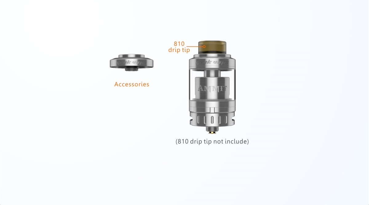 Wholesale 2ml/ 5ml Geekvape Ammit 25 Rta Tank