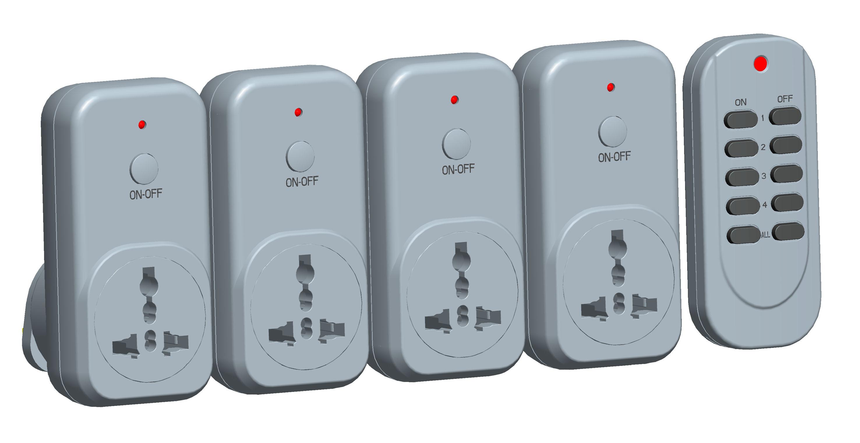 Universal Wireless Remote Control Socket