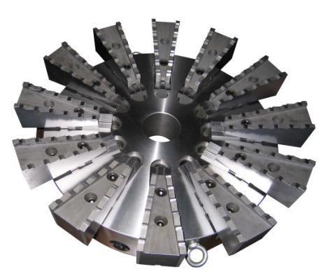 12-Jaw Self-Centering Chuck 630mm (K17 630)