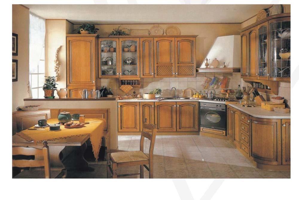 Antique Oak Solid Wood Furniture for Kitchen Use