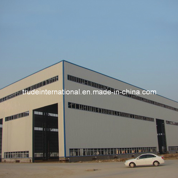 Steel Structure Warehouse for Being Used as Workshop