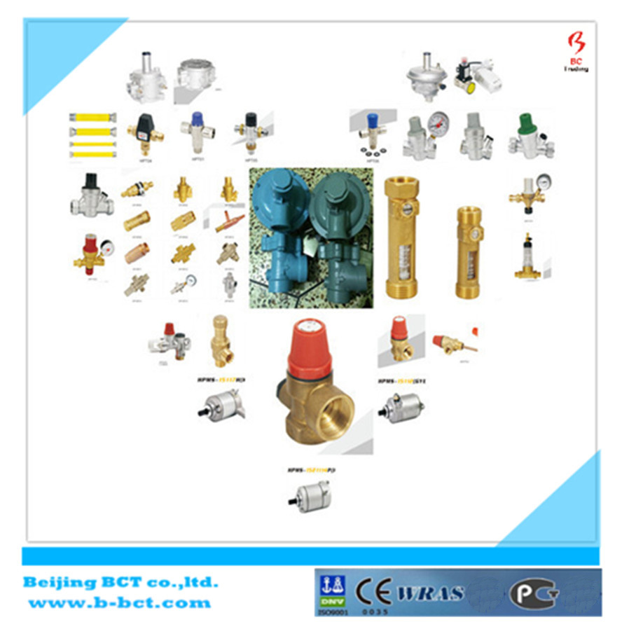 Brass Manual Thermostatic Valve for Radiator