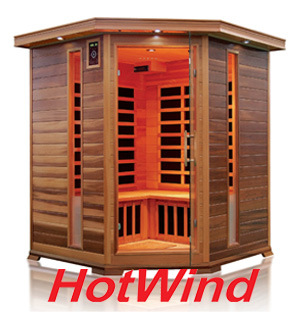 Far Infrared Sauna Traditional Sauna Wooden Sauna for 3-4 People (SEK-D3C)