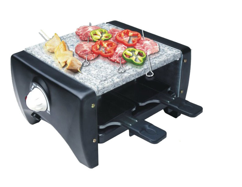 china mini raclette grill for 4 persons gr 104 china. Black Bedroom Furniture Sets. Home Design Ideas