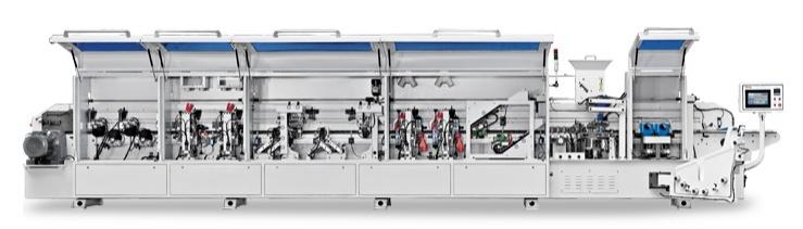 Pre-Milling & Corner Trim Woodworking Machine 0.4-3mm Thickness Auto-Edgebander Automatic Edge Banding Machine